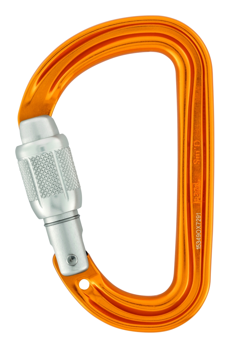 Карабин Petzl Sm'D SCREW-LOCK