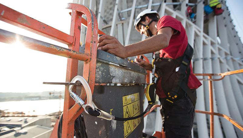 Обеспечение безопасности при работе на малой высоте